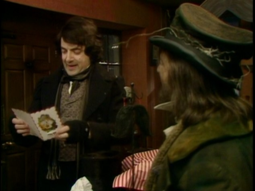 Blackadder with Baldrick